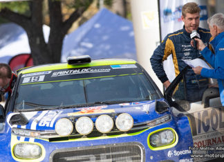 Läs om Mattias Adielssons EM-satsning i Citroën