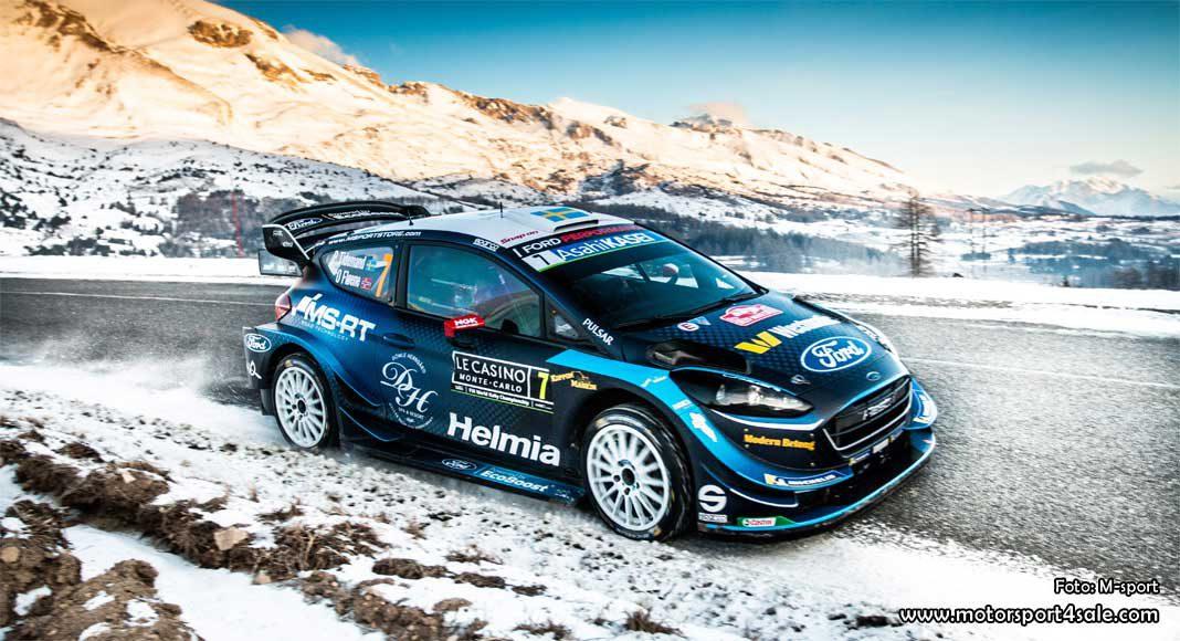 Pontus Tidemand om VM-premiären i Rallye Monte Carlo