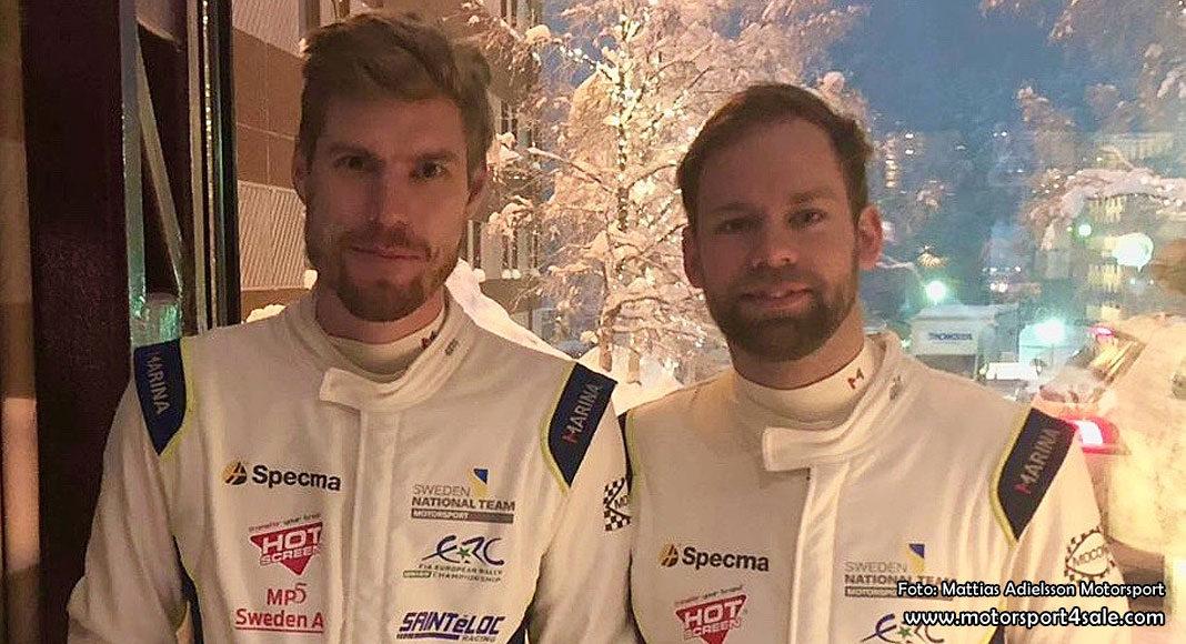 SM-medalj för Mattias Adielsson och Andreas Johansson i Sundsvall