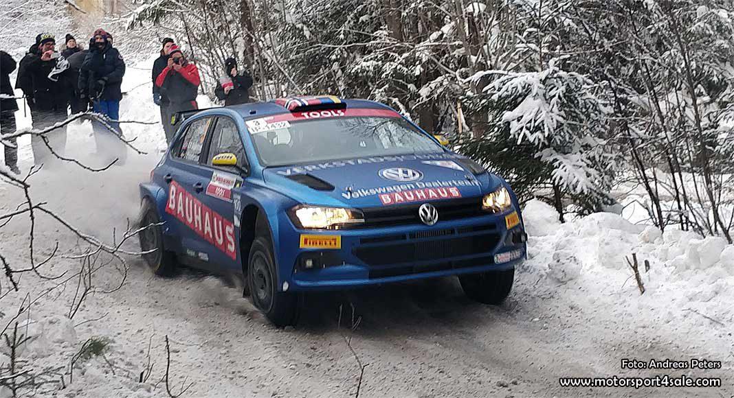 Johans humör på topp inför Rally Sweden