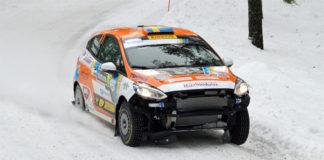 Dennis Rådström och Johan Johansson efter Rally Sweden 2019