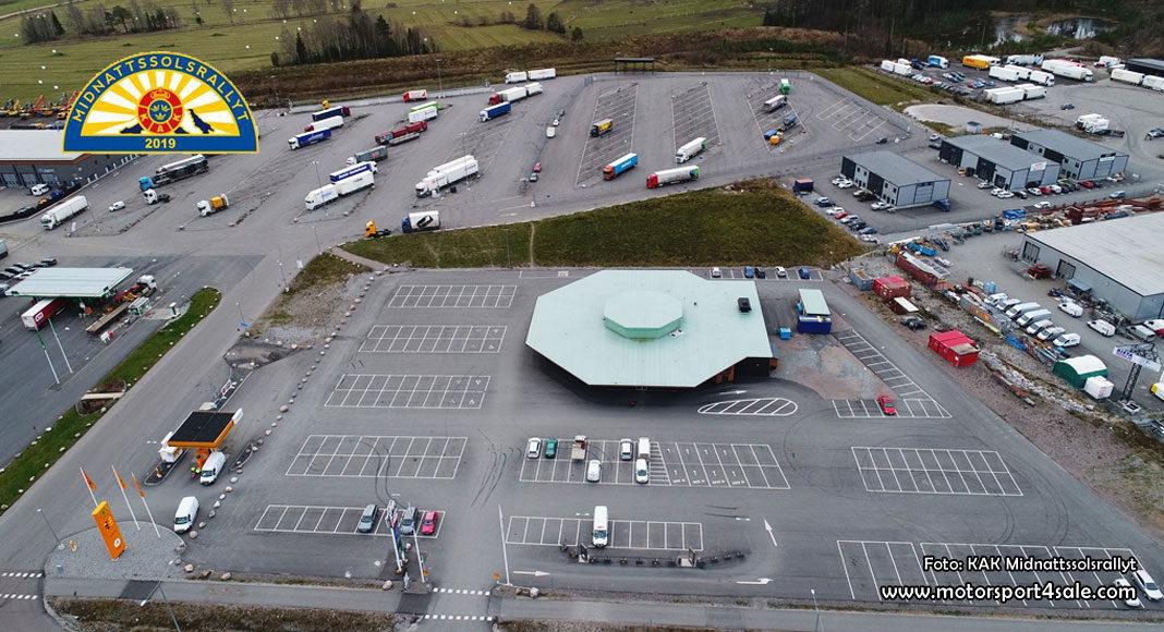 Truckstop i Örebro blir samlingspunkten för Midnattssolsrallyt