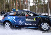 Pontus Tidemand summerar insatsen i Rally Sweden 2019