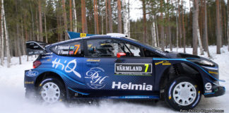 Pontus Tidemand summerar insatsen i Rally Sweden 2019