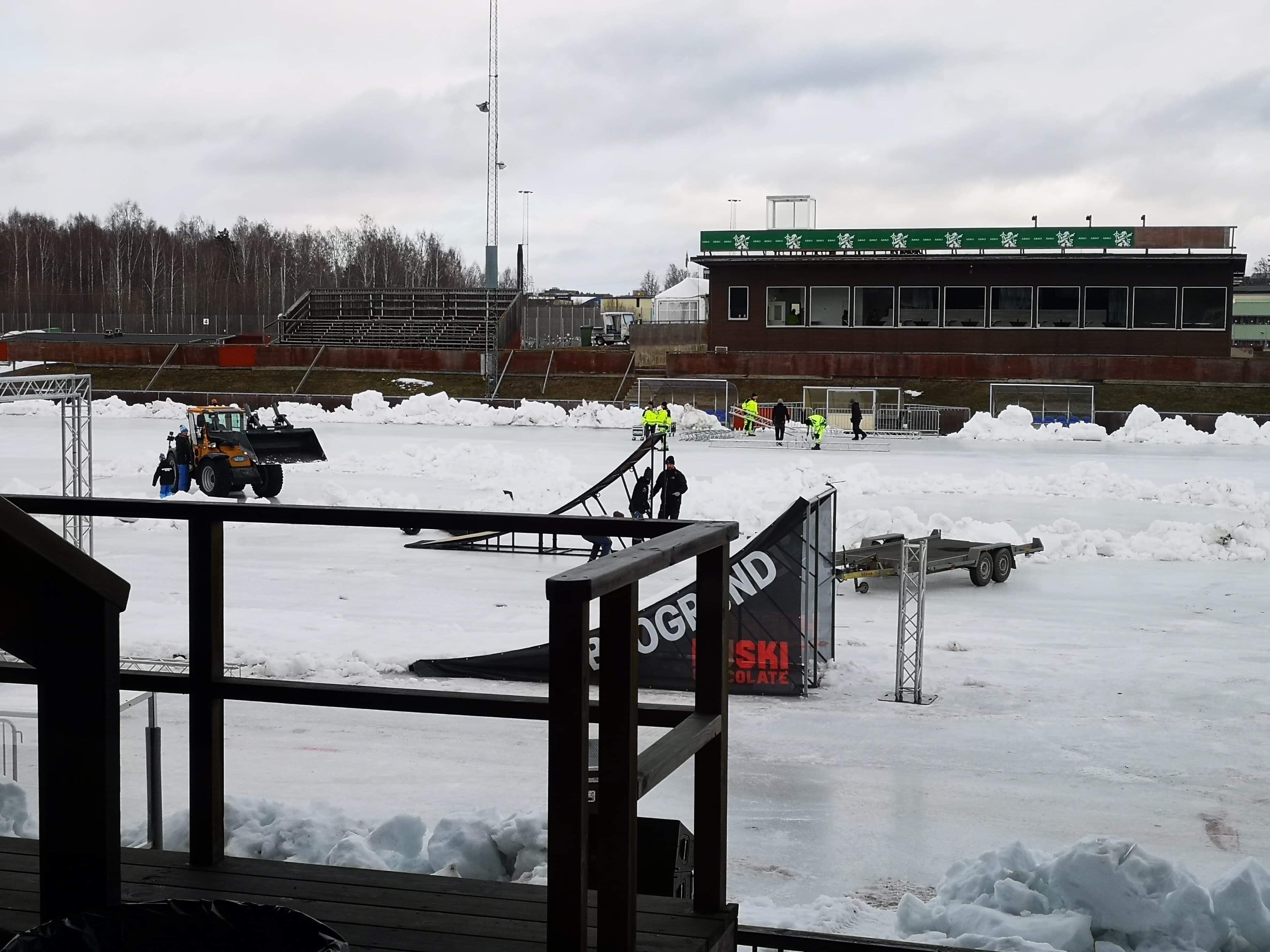 Bilder inför Sandvikens Motorshow 2019