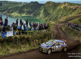 Azores Rallye blev en prövning för Mattias Adielsson
