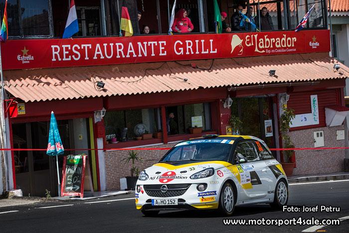 Rally Islas Canarias tuff uppgift för Elias Lundberg