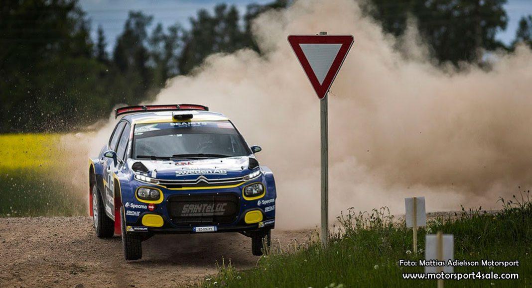 Mattias Adielsson om tiondeplatsen i Rally Liepaja