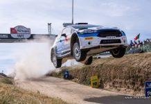 Emil Bergkvist och Patrik Barth WRC2-tvåa i Rally Portugal 2019