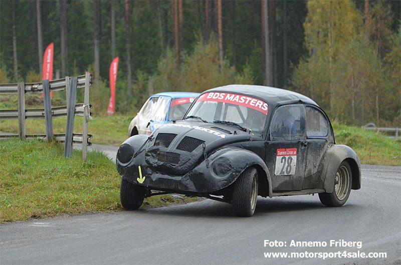 Bästa VW-förare blev Fredrik Köhler, Vikbolandet,