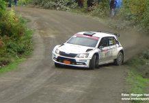 Fredrik Åhlin tog hem SM-finalen Rally Blekinge