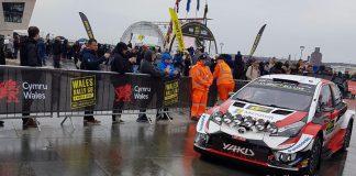 Bilder inför Wales Rally GB