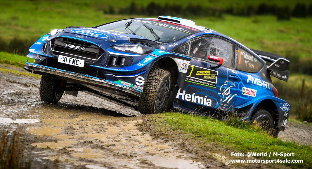 Pontus Tidemand om lördagen i Wales Rally GB