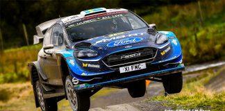 Säsongsbästa för Pontus Tidemand i Wales Rally GB