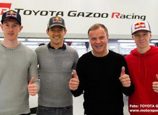 Spännande trio för Toyota i WRC 2020