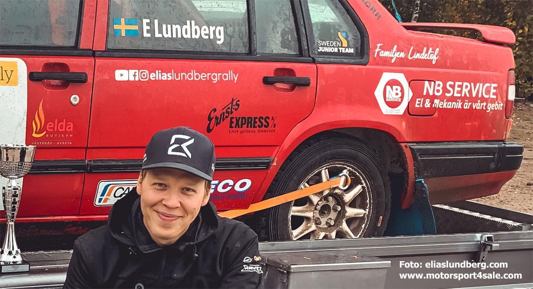 Elias Lundberg satsar på Volvo Euro Cup 2020