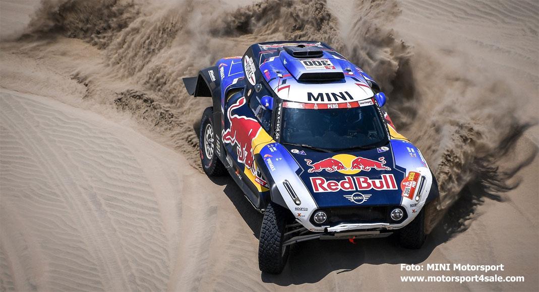 Carlos Sainz inför årets Dakar 2020