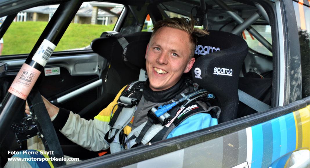 Tom Kristensson kör JWRC-premiären i Rally Sweden 2020