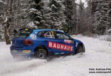 Johan Kristoffersson laddar upp i Norge inför Rally Sweden