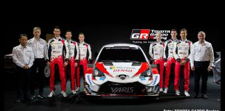 Toyota Yaris WRC 2020 presenterad i Japan