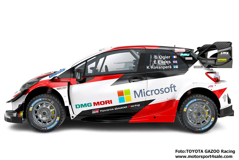 Toyota Yaris WRC 2020 presenterad i Japan