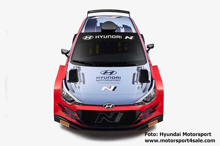 Veiby och Gryazin kör för Hyundai i WRC2 under 2020