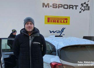Dennis Rådström laddar upp i Polen inför Junior-EM