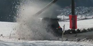 Film från Rallye Monte Carlo 2020