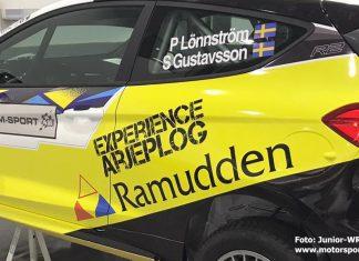 Här är Pontus Lönnströms nya Ford i J-WRC