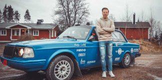Elias Lundberg tillbaks i bakhjulsdrivet för Rally Vännäs
