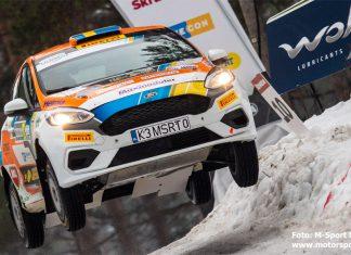 Dennis Rådström siktar högt i Rally Sweden