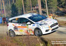 Dennis Rådström snabbaste 2wd i Rally Sweden 2020