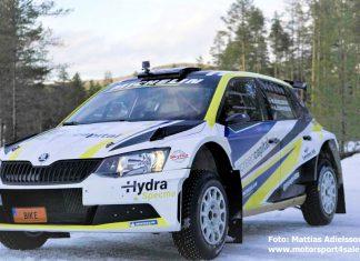 Mattias Adielsson redo för Rally-SM 2020