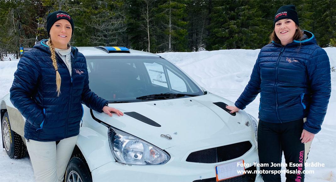 Inför Rally Vännäs 2020: Jonna Eson Brådhe går över till 4wd
