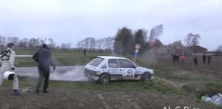 Porsche får oväntat besök i Rallye des Routes du Nord