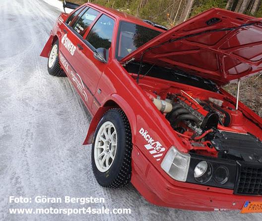 Patrik Flodins inlånade Volvo 940