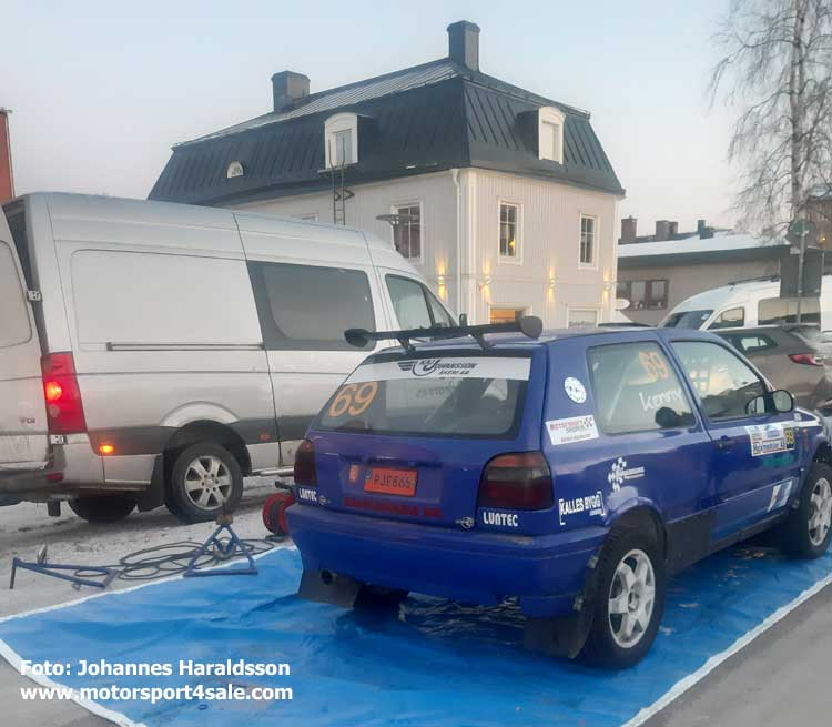 Johannes Haraldsson tvingades bryta i Vännäs