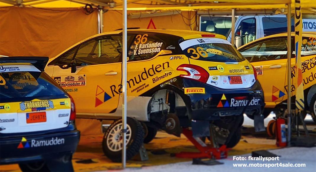 Racerapport Rally Vännäs: Fredrik Karlander