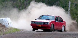 Erik Brodin är med i Slottssprinten Rally Light 2020