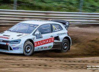 Andraplats för Johan Kristoffersson i rallycrosscomebacken