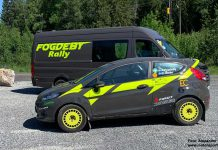 Alexander Fogdebys Ford Fiesta