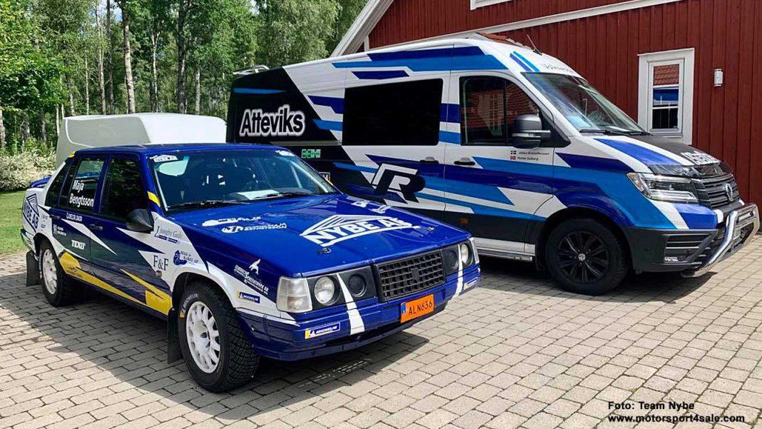 Volvo 940 som Jonas Kruse ska köra i Slottssprinten