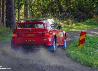Slottssprinten Rally Light 2020 Resultat, tider och bilder