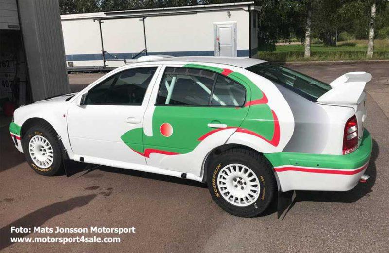 Mats Jonssons nya Skoda Octavia WRC