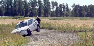 WRC-Corolla i trubbel på Bergbybanan