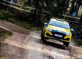 Pontus Lönnström redo för JWRC i Rally Estonia