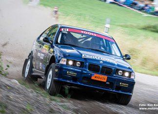 "Tomas ""Lången"" Pettersson kör BMW i Rally Bilmetro"