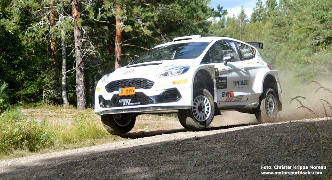 P-G Andersson tog hem segern i East Sweden Rally 2020