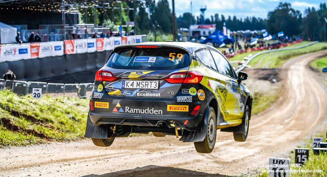 Pontus Lönnström i Rally Estland