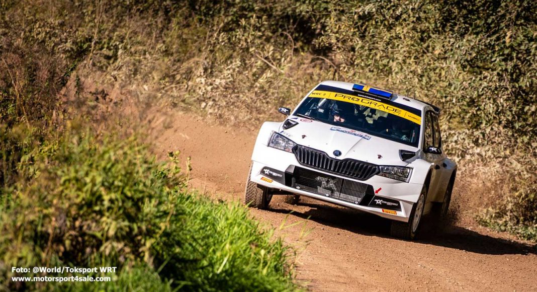 Pontus Tidemand i Rally Estland